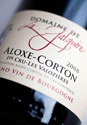 ALOXE-CORTON 1er Cru «Les Valozières»